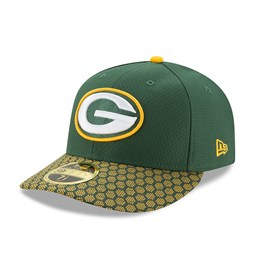 Green Bay Packers 2017 Sideline Low Profile 59FIFTY, verde