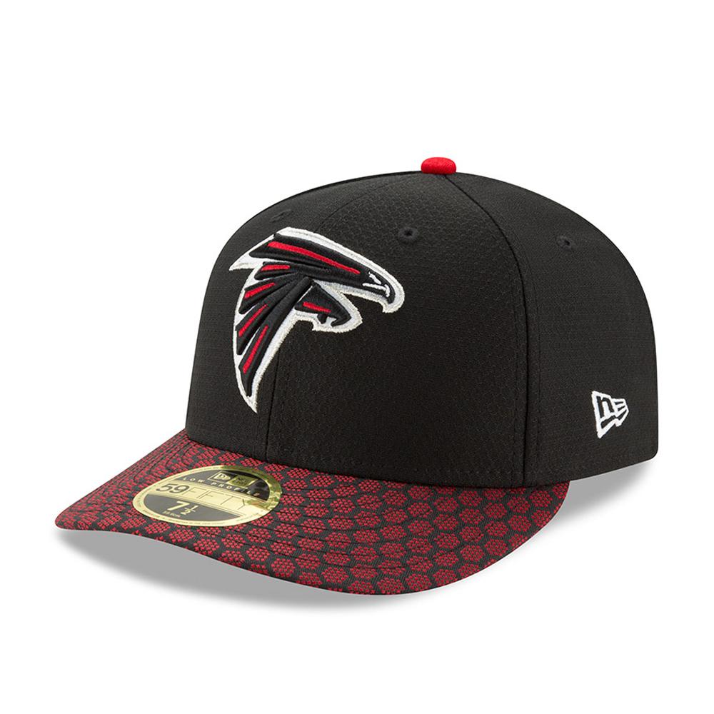 59FIFTY – Atlanta Falcons – 2017 Sideline Low Profile – Schwarz