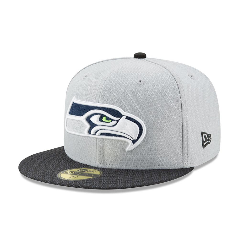 59FIFTY– Seattle Seahawks – 2017 Sideline – Grau