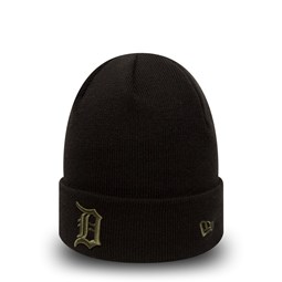 Detroit Tigers Essential Black Cuff Knit