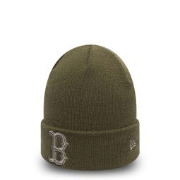 Boston Red Sox – Cuff-Beanie – Essential – Olivgrün