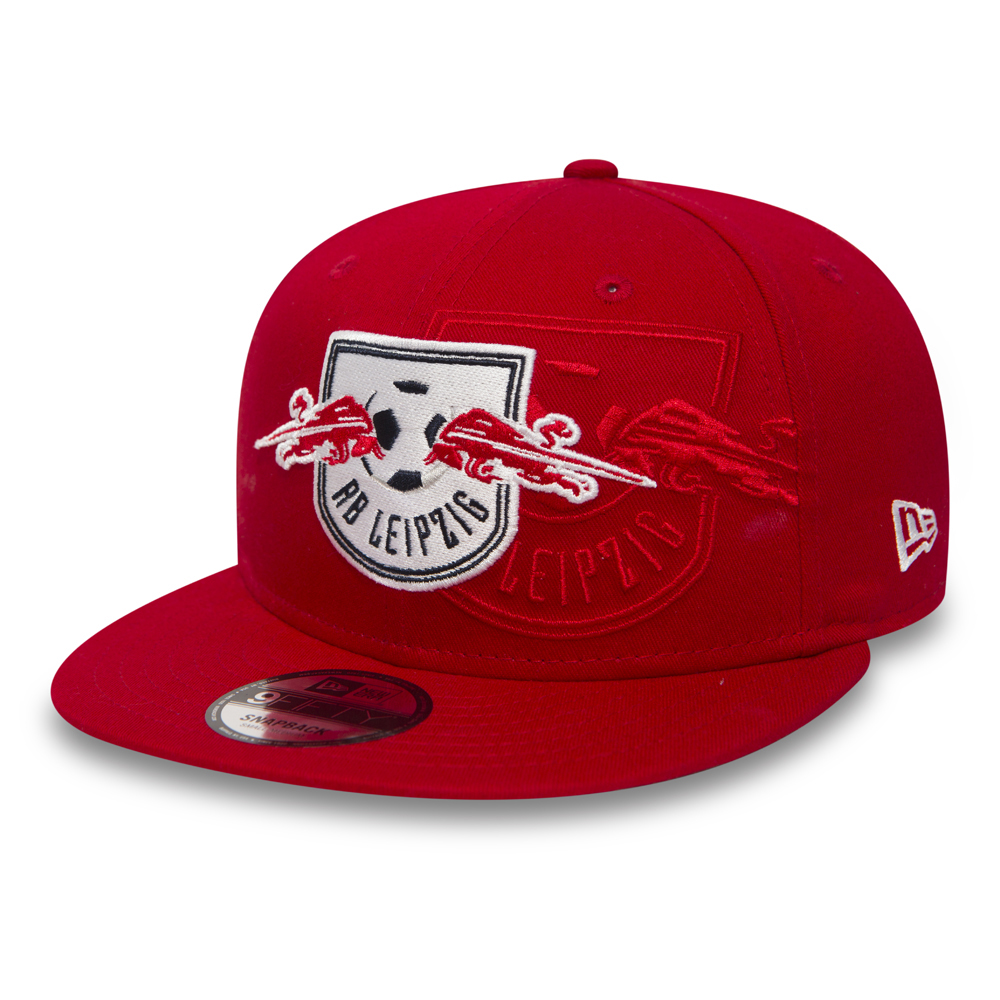 RB Leipzig Crown Print 9FIFTY Red Snapback