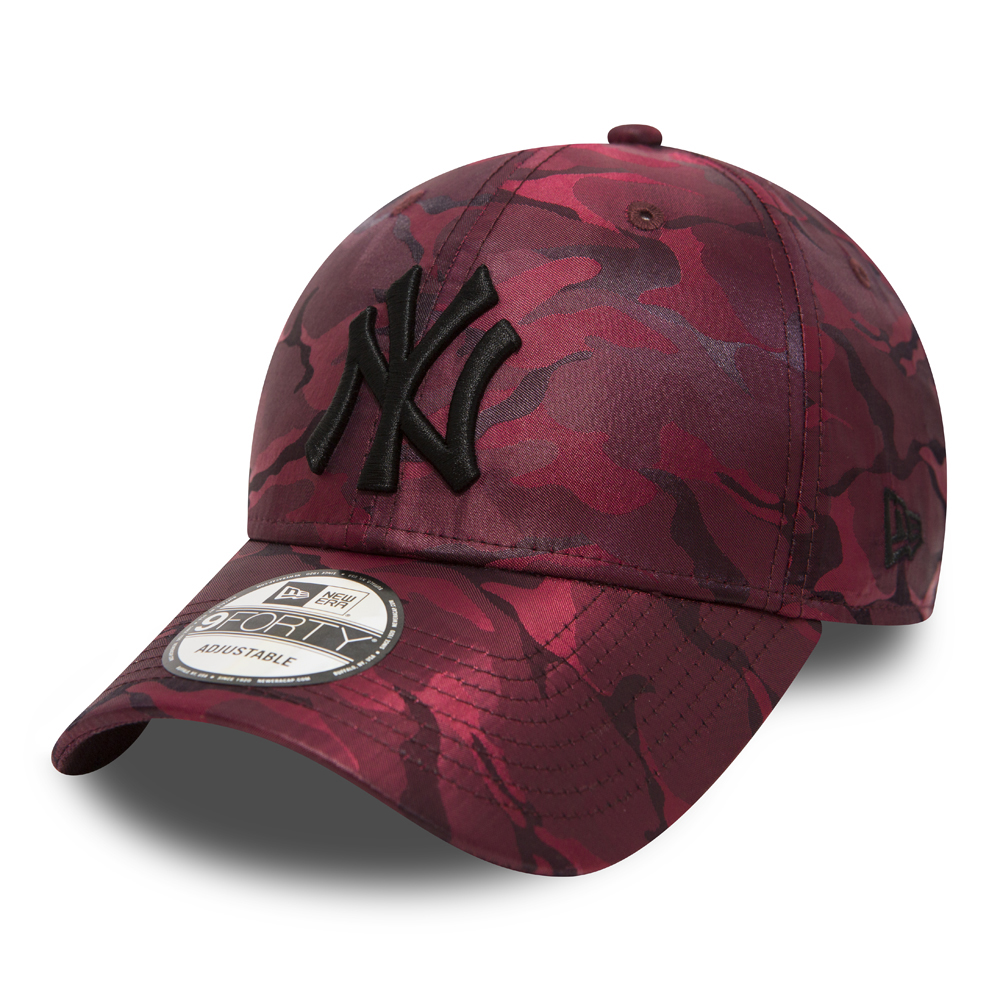 New York Yankees Maroon Camo 9FORTY
