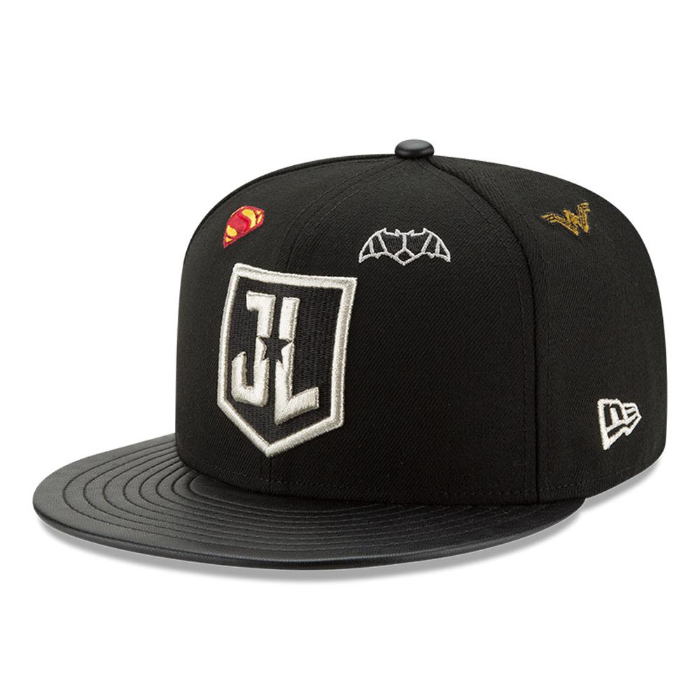 Justice League Logo 9FIFTY Snapback noir