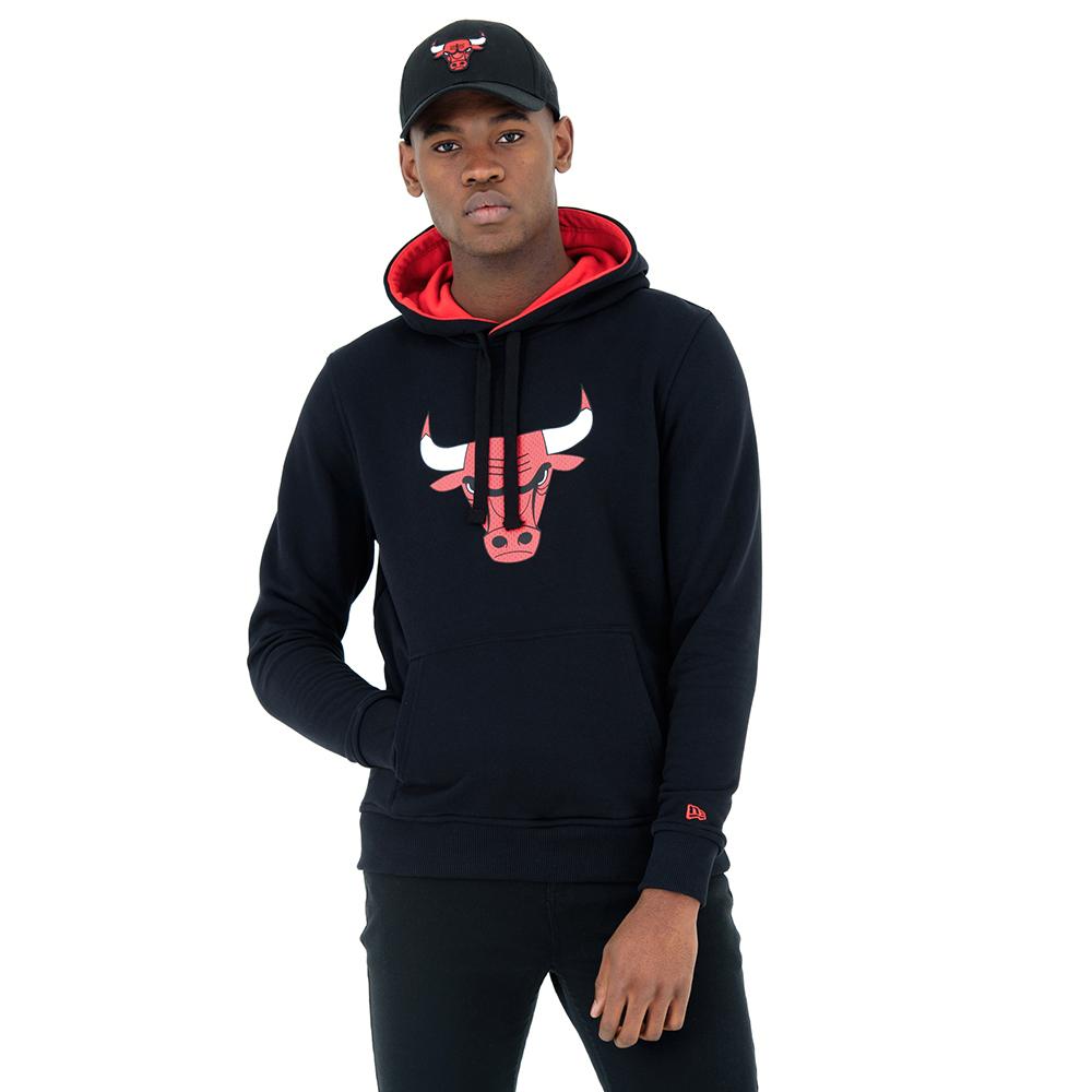 Chicago Bulls Tip Off Black Pullover Hoodie  609d8ba2b94