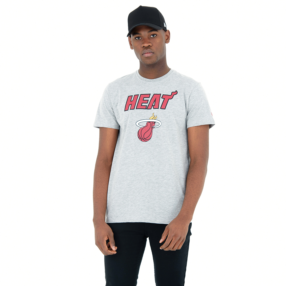 Miami Heat Heather Grey Tee