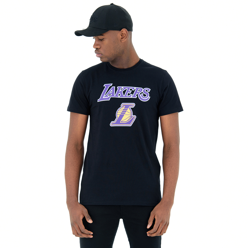 Camiseta Los Angeles Lakers, negro