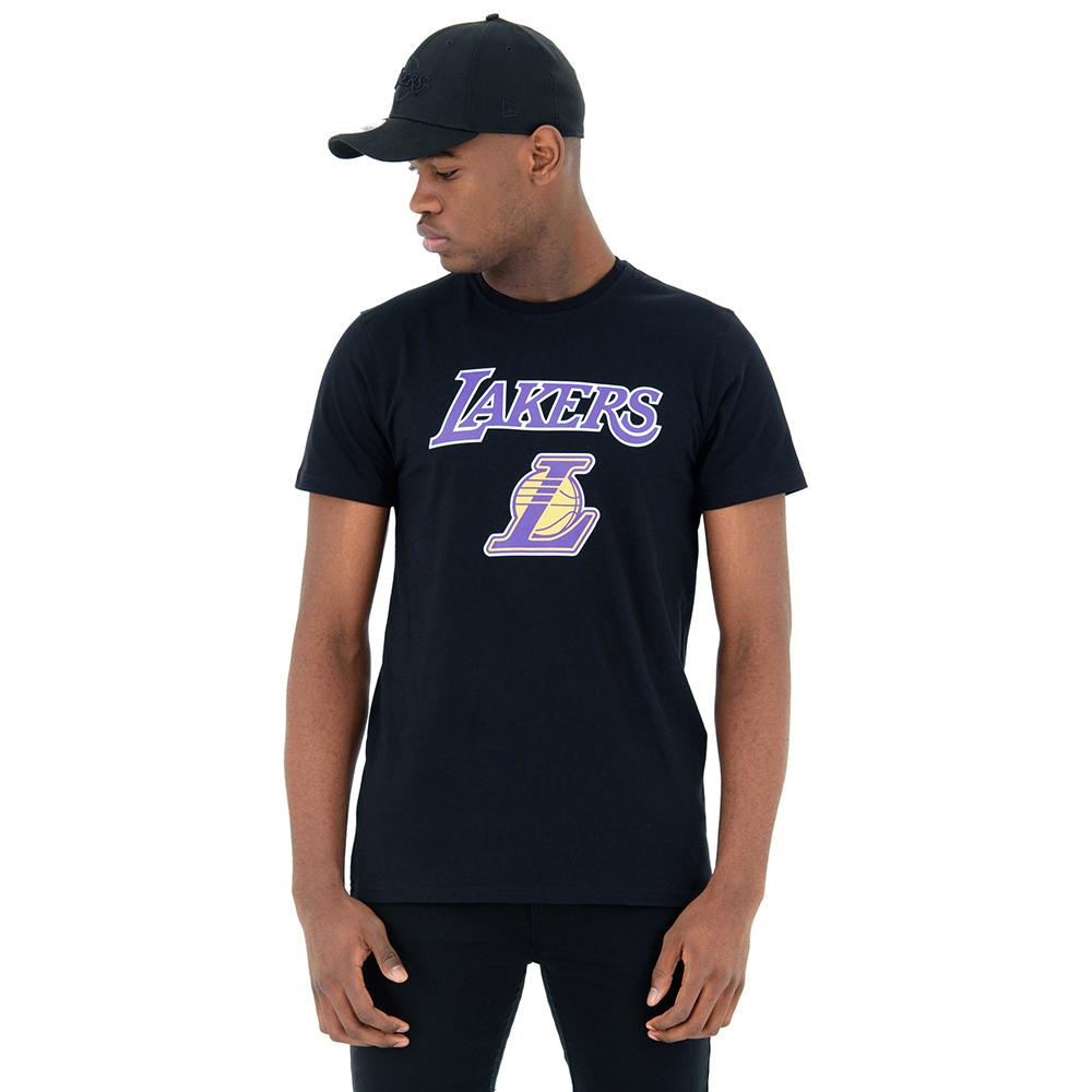 f90a3cf04c1 Los Angeles Lakers Black Tee