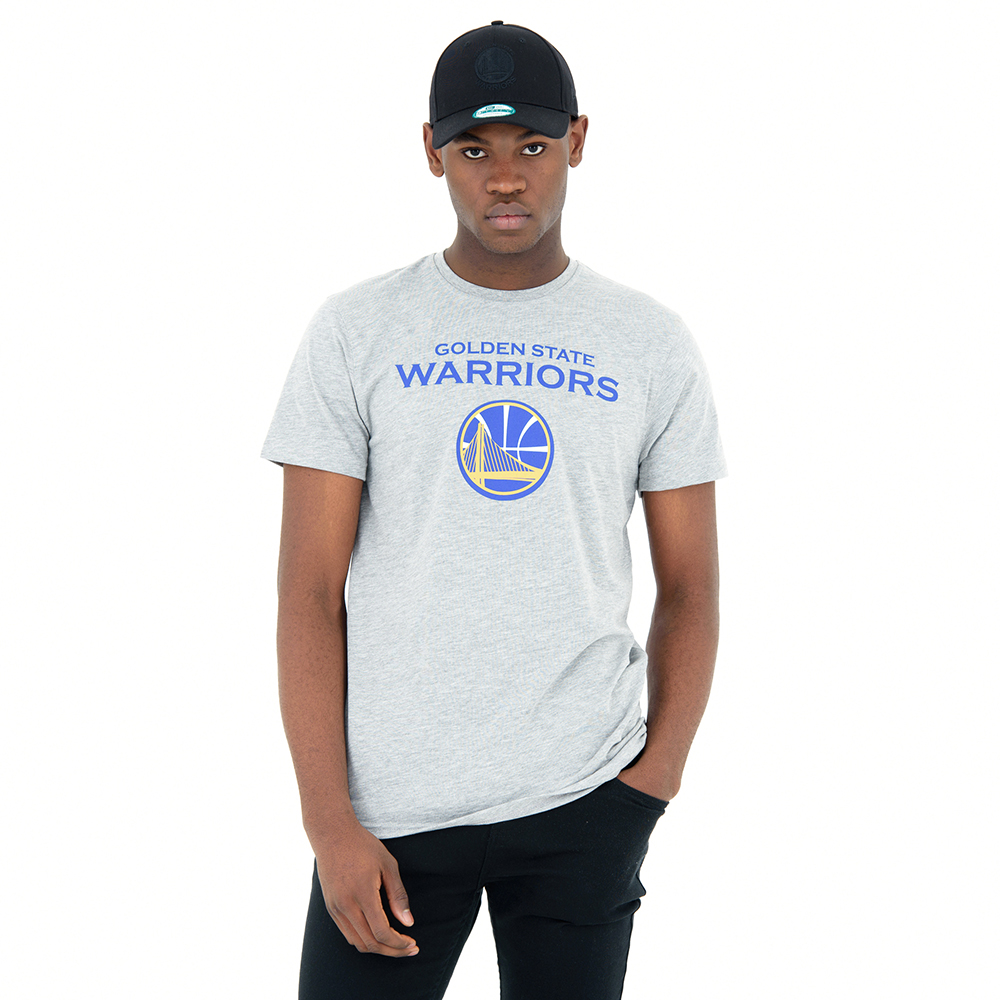 Golden State Warriors – T-Shirt in Grau meliert