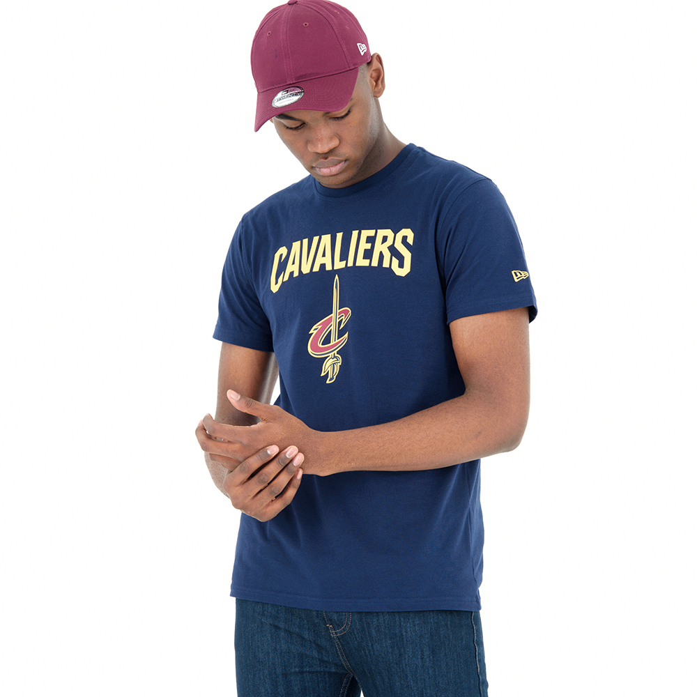 Cleveland Cavaliers – Blaues T-Shirt