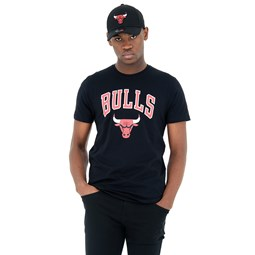 Chicago Bulls Black Tee