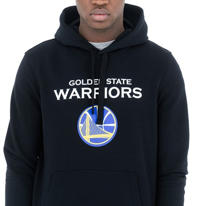 Golden State Warriors Black Pullover Hoodie