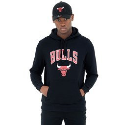 Chicago Bulls Black Pullover Hoodie