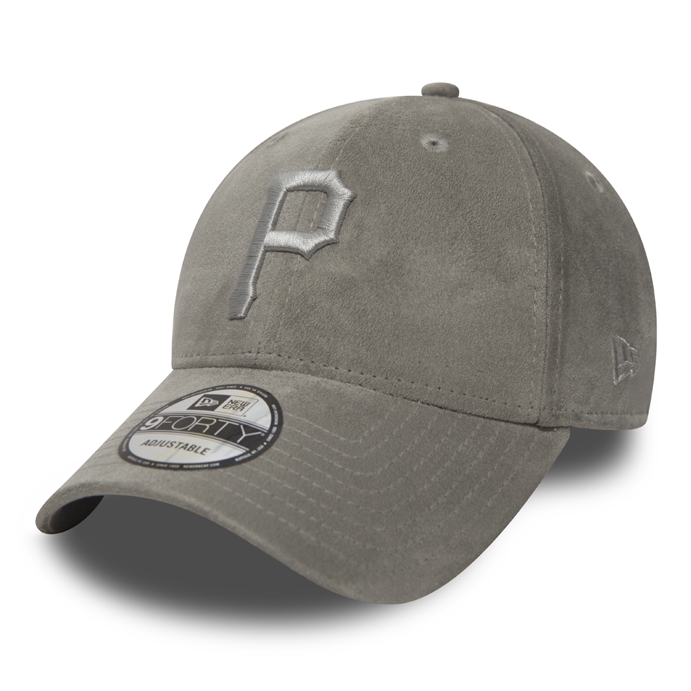 Pittsburgh Pirates Suede Essential Grey 9FORTY