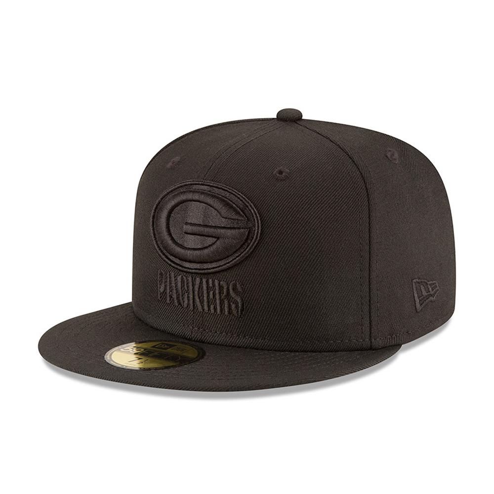 Green Bay Packers Black on Black 59FIFTY