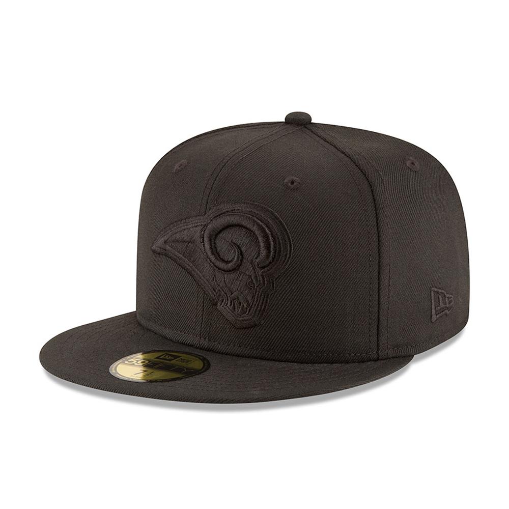 Los Angeles Rams Black on Black 59FIFTY