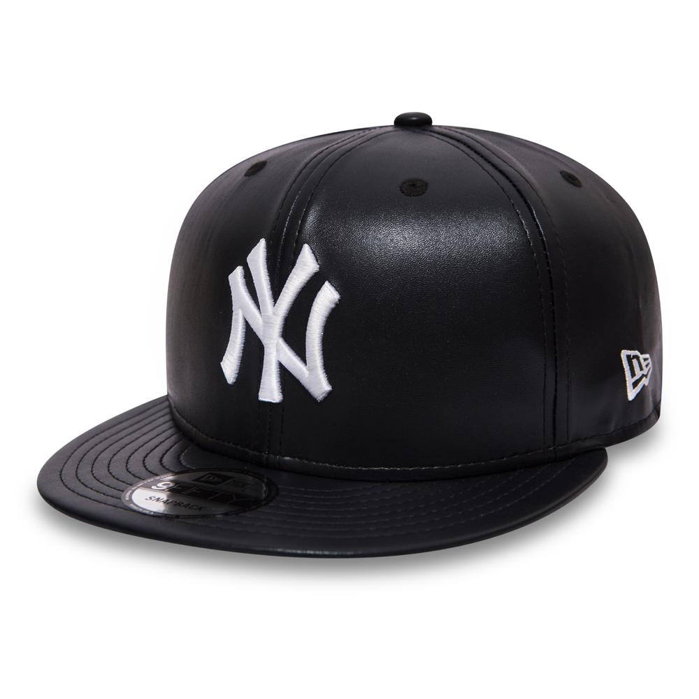 9FIFTY Snapback – New York Yankees – Marineblaues Leder