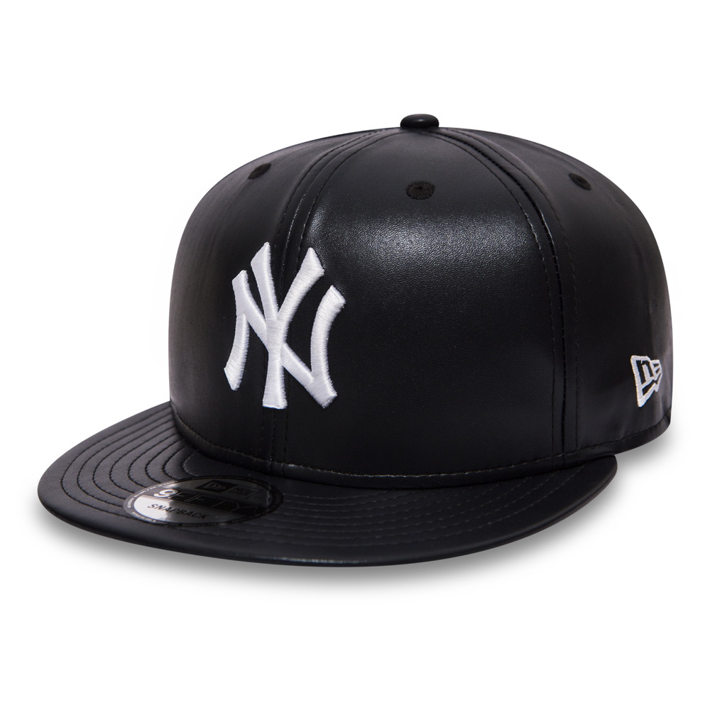 ... New York Yankees Leather 9FIFTY Snapback 113486f5b64