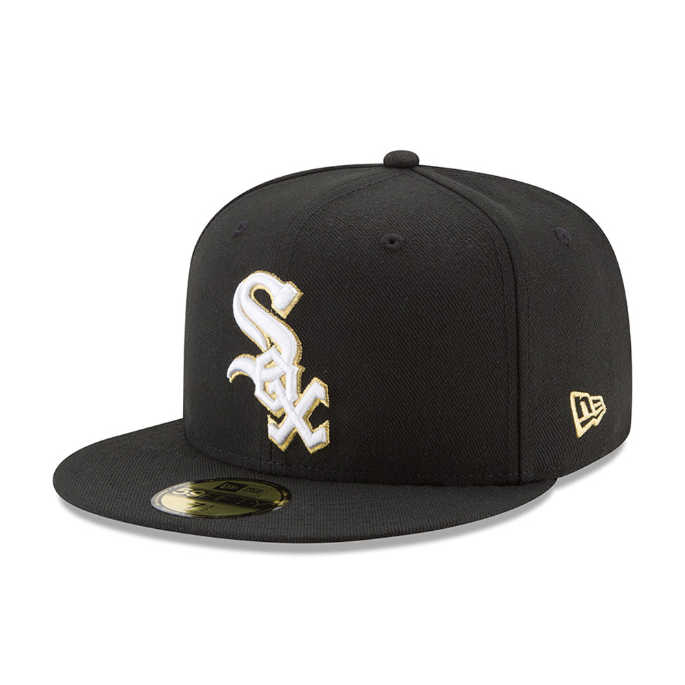 59FIFTY – Chicago White Sox – Hashmarks – Schwarz