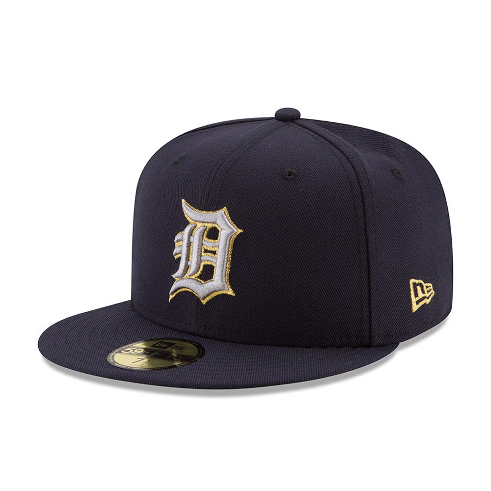 59FIFTY – Detroit Tigers – Hashmarks – Marineblau