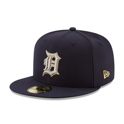 Detroit Tigers Hashmarks Navy 59FIFTY