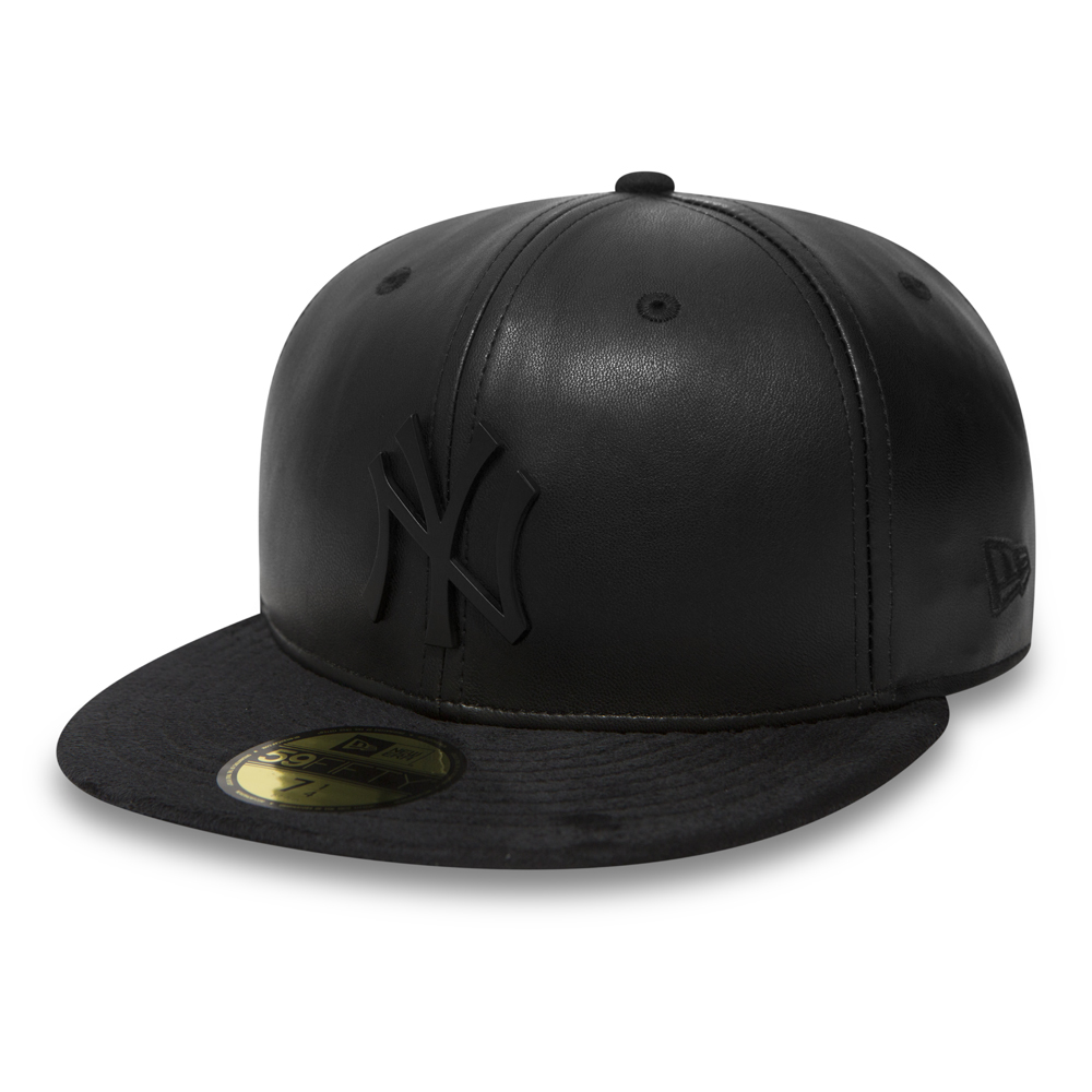 59FIFTY – New York Yankees – Metallwappen – Schwarz