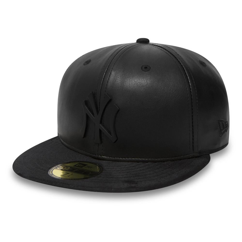 New York Yankees Metal Badge 59FIFTY, negro