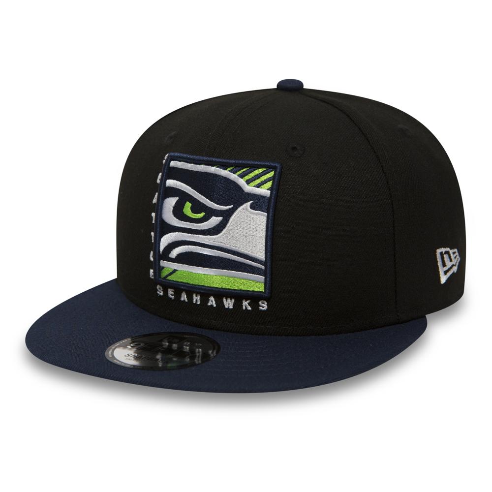 Seattle Seahawks Cropped Box 9FIFTY Snapback