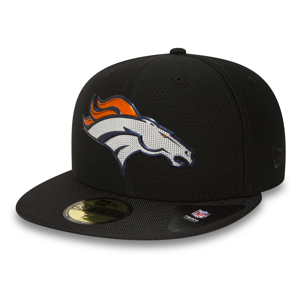 Denver Broncos Black Collection 59FIFTY