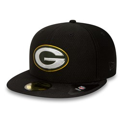Green Bay Packers Black Collection 59FIFTY