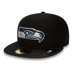 Seattle Seahawks Black Collection 59FIFTY