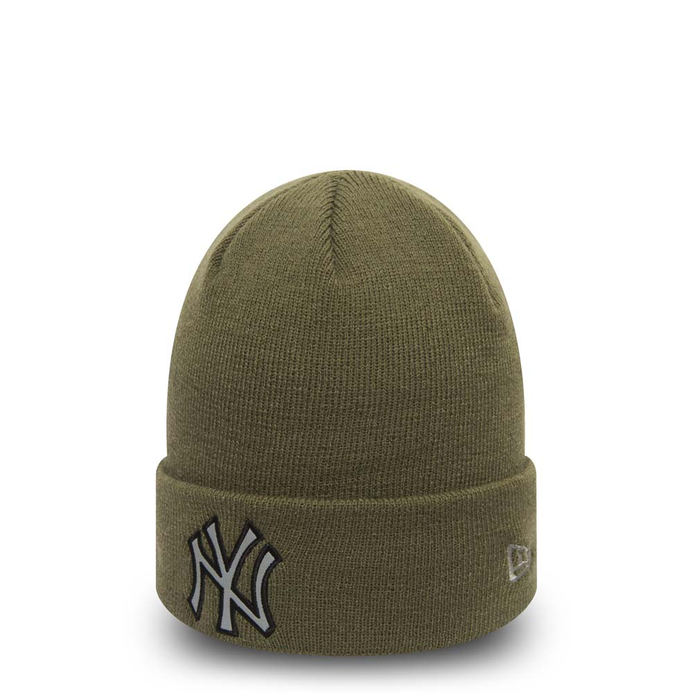 New York Yankees – Cuff-Beanie – Night Op – Olivgrün