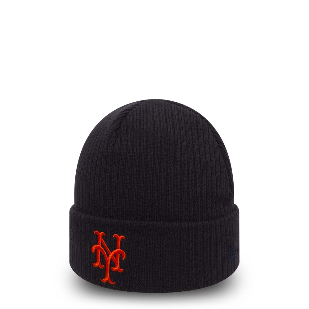 Bonnet à revers New York Mets Club Coop bleu marine