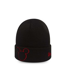 Mickey Mouse Black Cuff Knit enfant