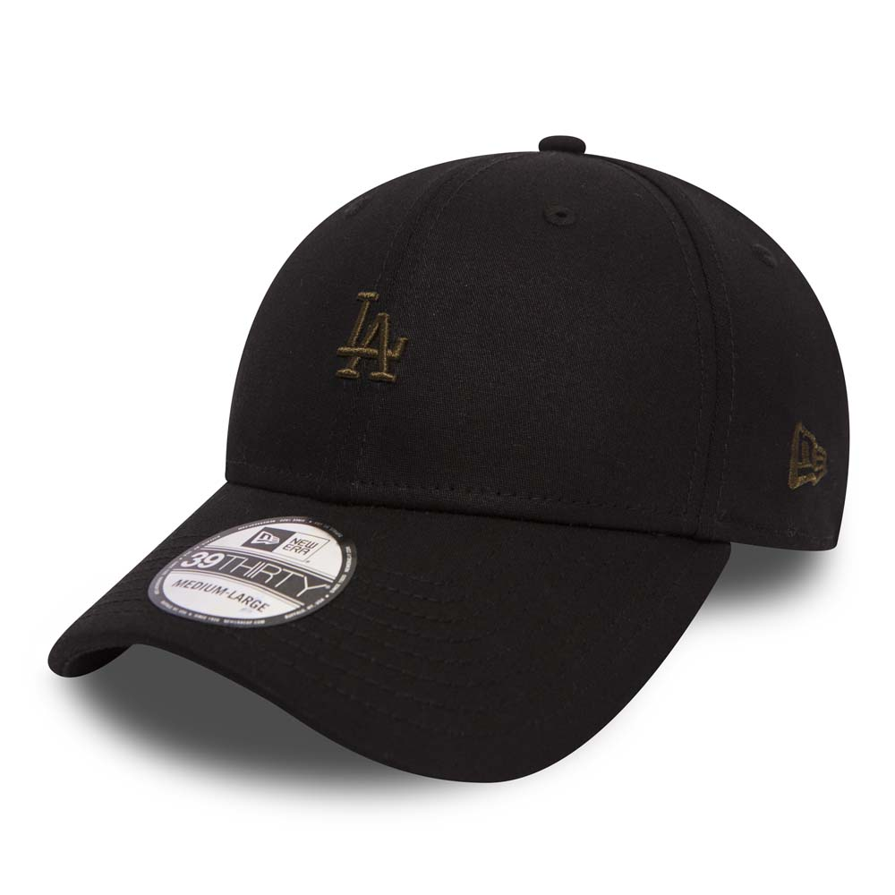 Los Angeles Dodgers Mini Logo Black 39THIRTY