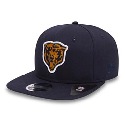 Chicago Bears Patch Original Fit 9FIFTY Snapback, azul marino