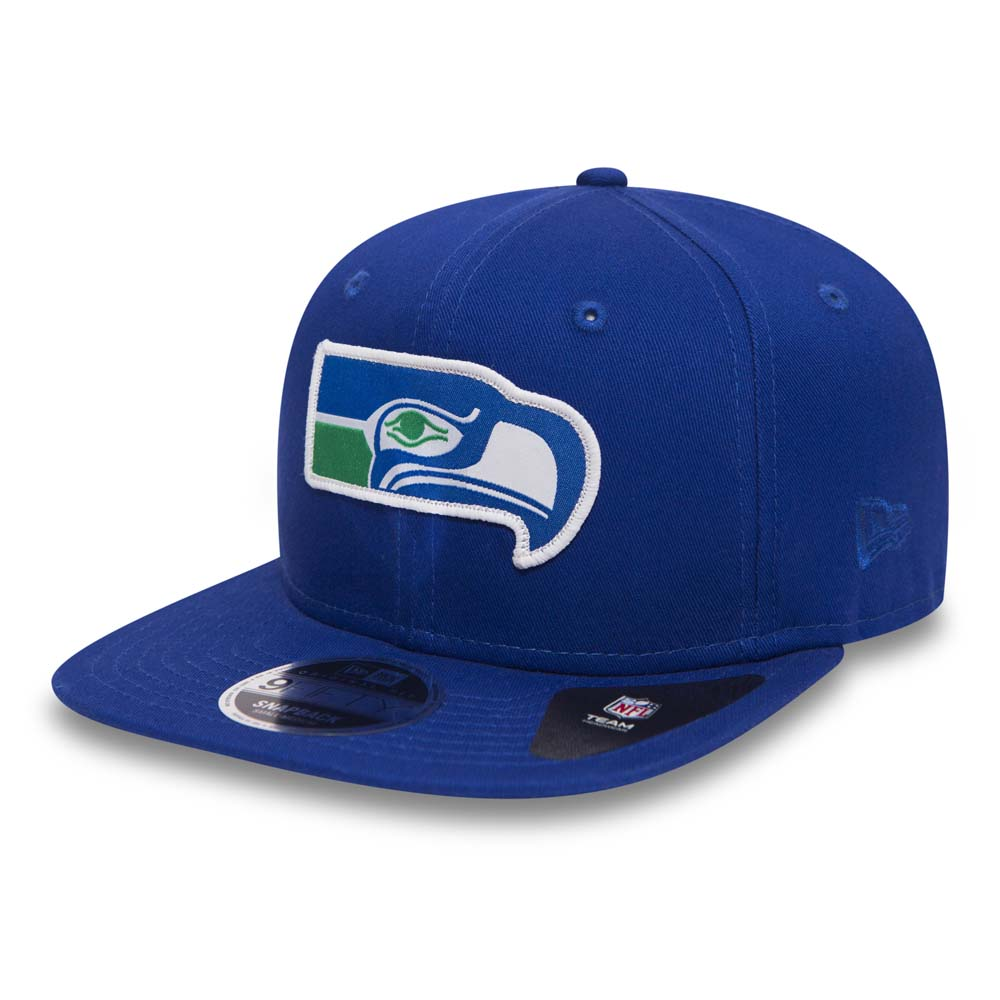 Seattle Seahawks Patch Original Fit 9FIFTY Blue Snapback