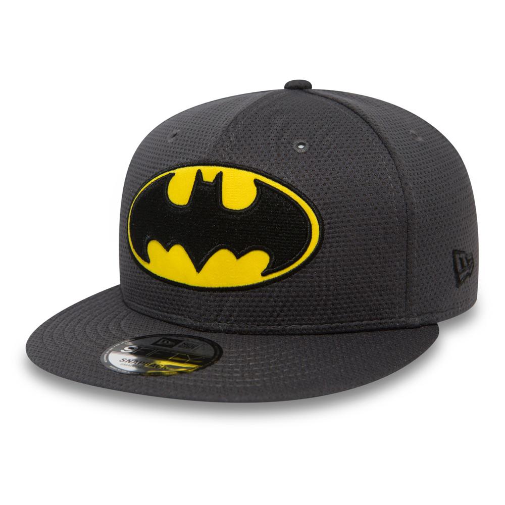9FIFTY Snapback – Batman Character – Netzstoff in Teamgrau