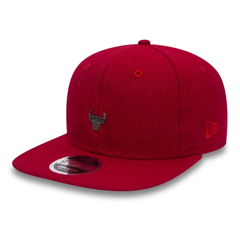 Chicago Bulls Pin Badge Red Original Fit 9FIFTY Snapback