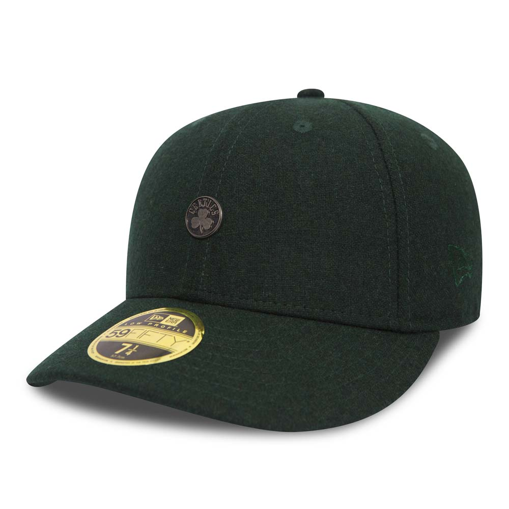 Boston Celtics Pin Badge Dark Green Low Profile 59FIFTY