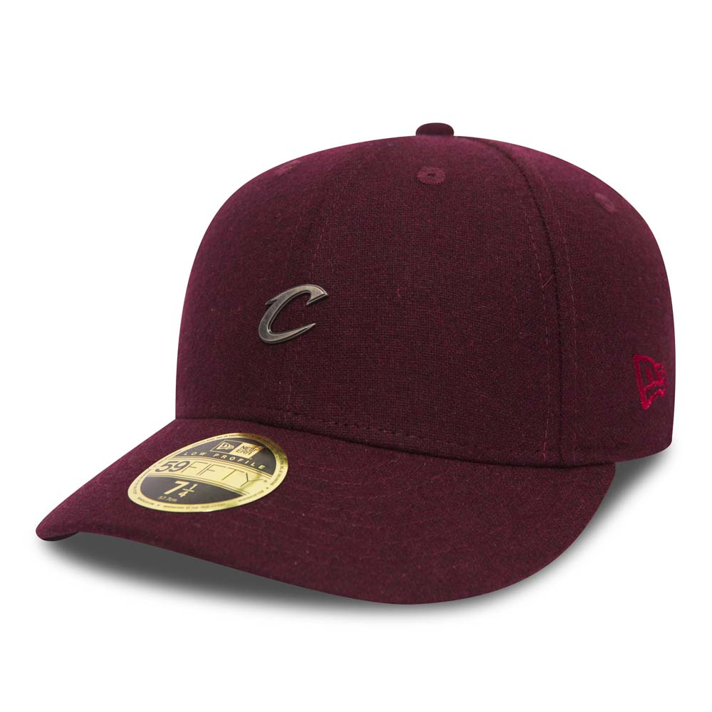 Cleveland Cavaliers Pin Badge Maroon Low Profile 59FIFTY
