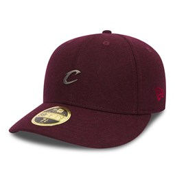 Cleveland Cavaliers Pin Badge Low Profile 59FIFTY, granate