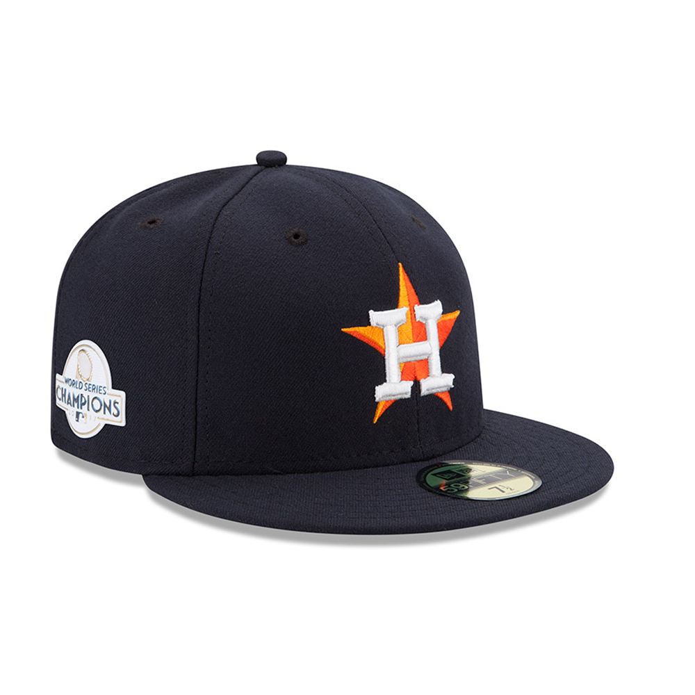 Houston Astros World Series 2017 Champions Side Patch 59FIFTY  e886b62f207