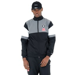 Oakland Raiders Black Track Jacket