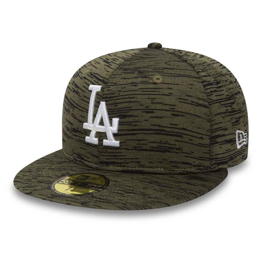59FIFTY – Los Angeles Dodgers – Engineered Fit in Olivgrün