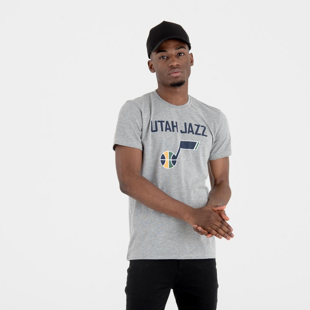 T-shirt Utah Jazz Team Logo grigia