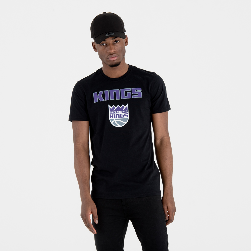 Sacramento Kings Team Logo Black Tee