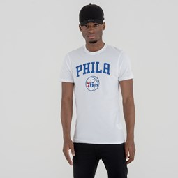 Camiseta Philadelphia 76ers Team Logo, blanco