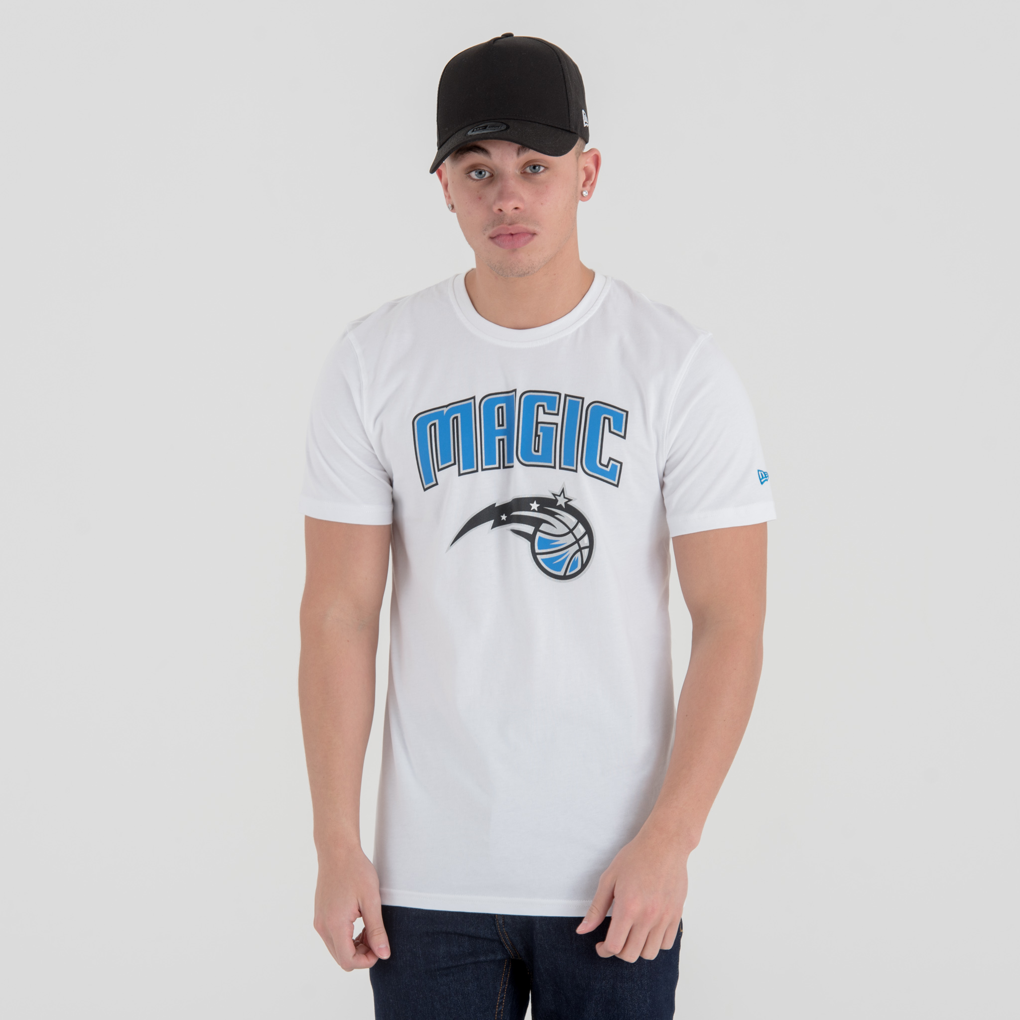 T-shirt Orlando Magic Team Logo bianca