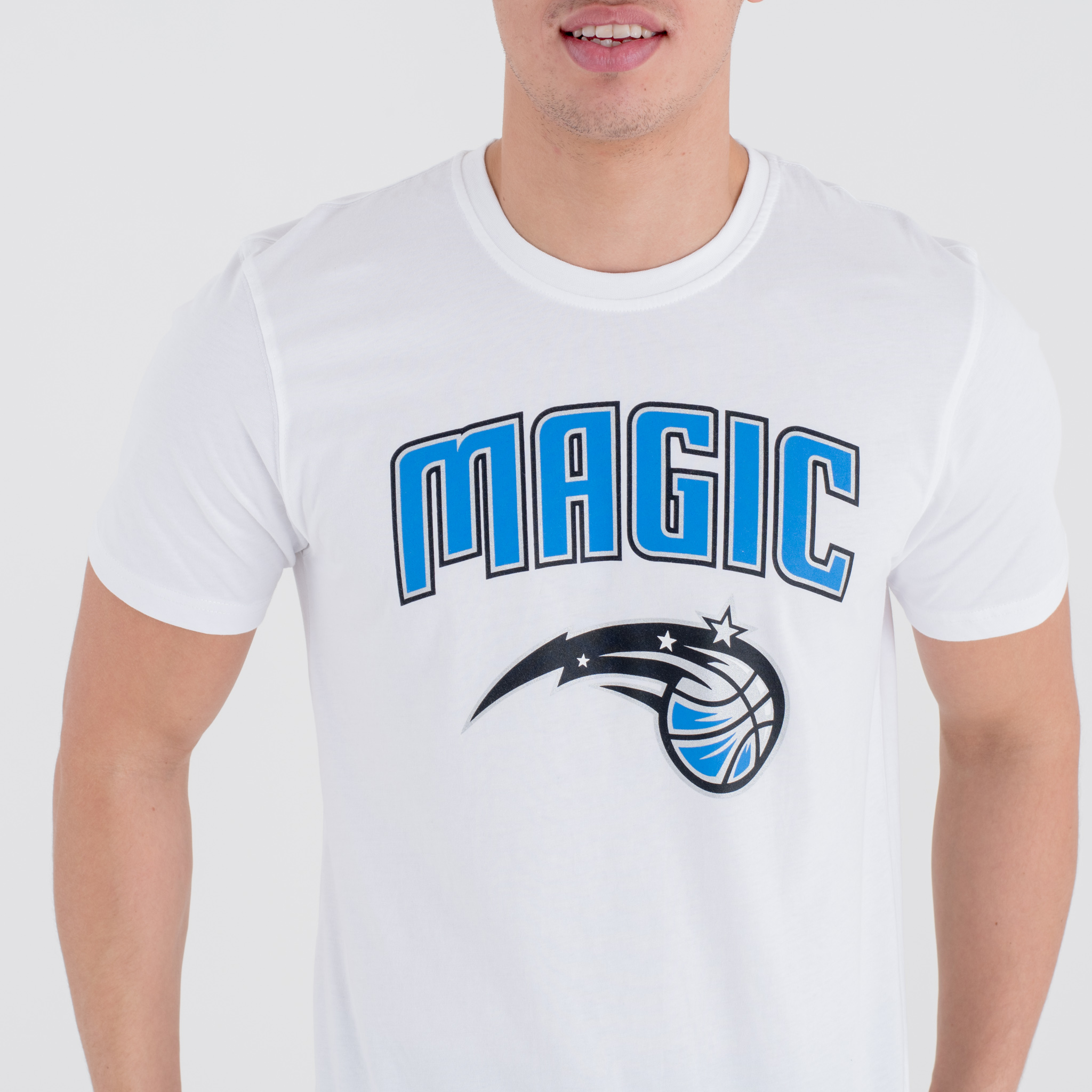 wei es t shirt orlando magic mit teamlogo new era. Black Bedroom Furniture Sets. Home Design Ideas